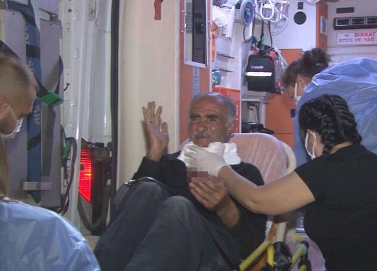 İzmir'de feci olay: Kırık cam şişesiyle yaşlı adamın boğazını kestiler