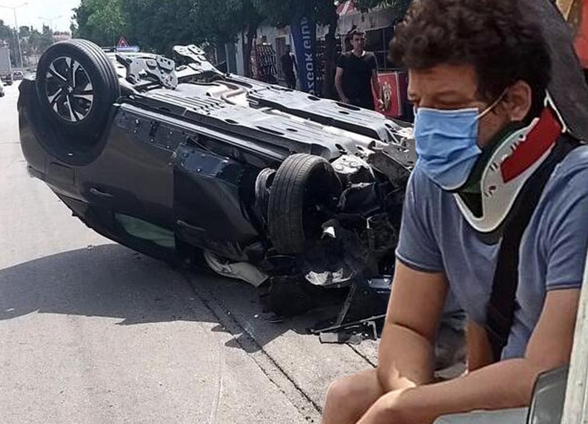 Ünlü oyuncu İlker Aksum trafik kazası geçirdi
