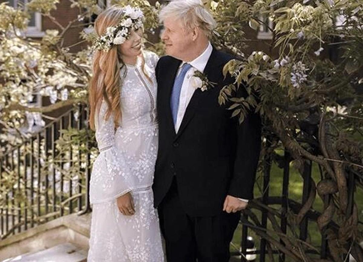 İngiltere Başbakanı Boris Johnson'ın gizli nikahından ilk kare