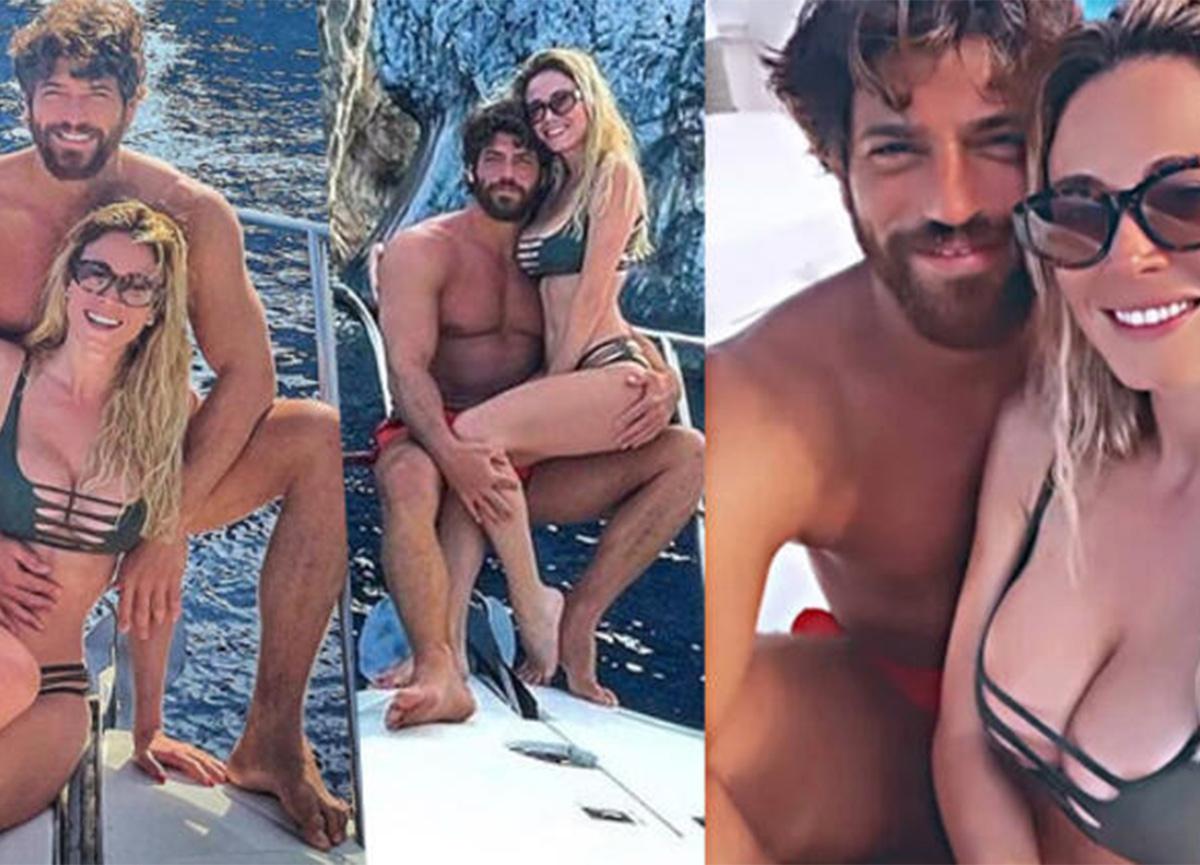 Diletta Leotta ve Can Yaman, Capri tatilinde!