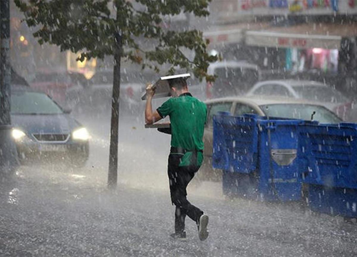 Dikkat! Meteoroloji, İstanbul için dolu uyarısı yaptı!