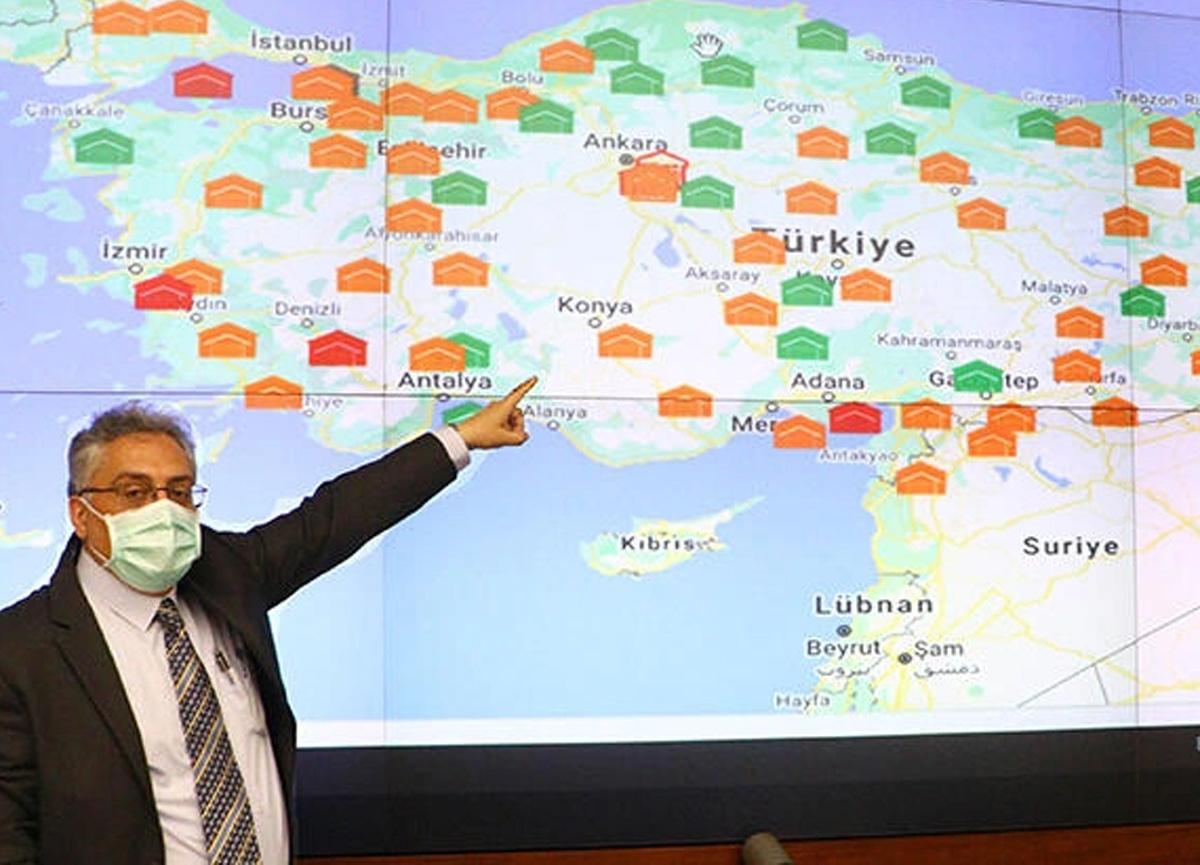Türkiye'nin 81 iline gönderilen koronavirüs aşıları anbean takip ediliyor!