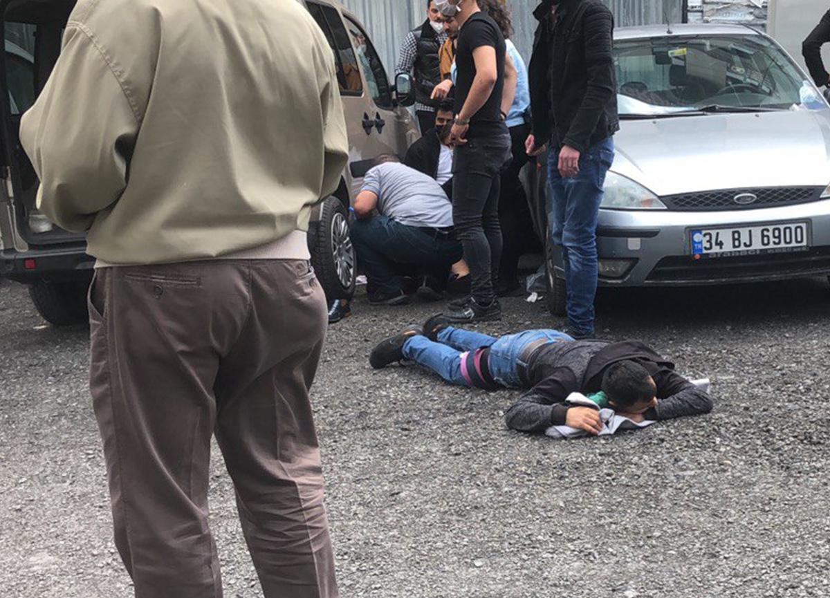 Bakırköy Adliyesi karıştı: Silahlı çatışmada yaralılar var...