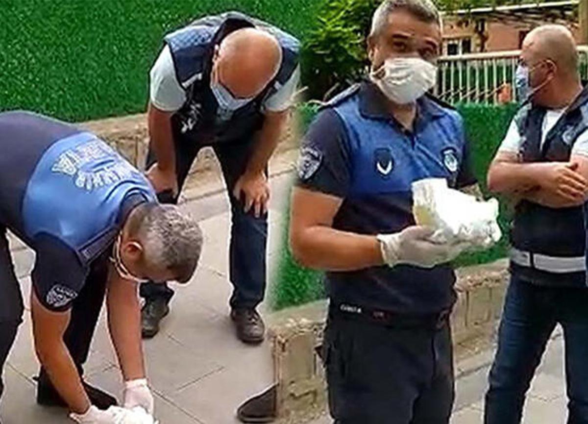 Kayseri'de şok eden manzara! Dilencinin sakladığı paralar bebek bezinde çıktı