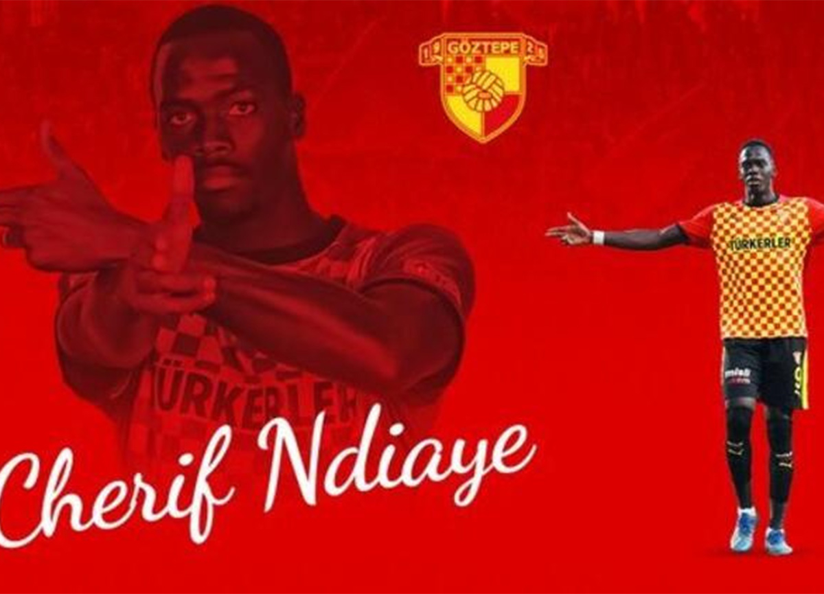 Göztepe'den 3 yıllık imza! Cherif Ndiaye...