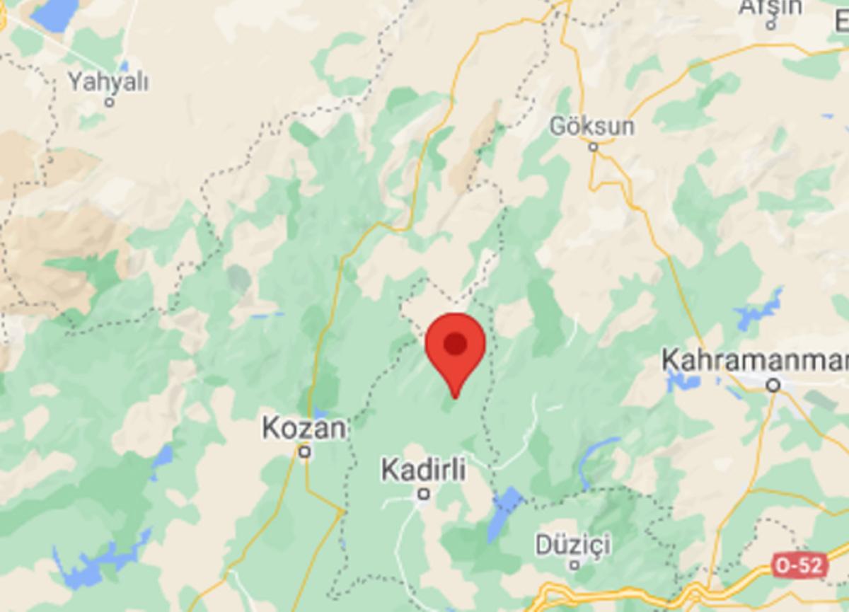 Son dakika: Osmaniye'nin Kadirli ilçesinde 4.2 büyüklüğünde deprem meydana geldi