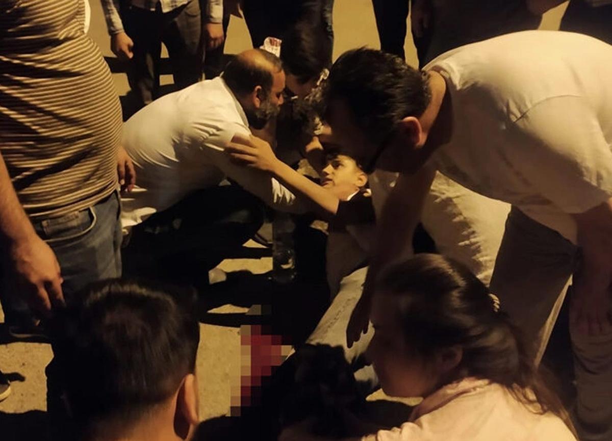 Gaziantep'te feci olay! Kazada ayağı koptu, kimse söyleyemedi