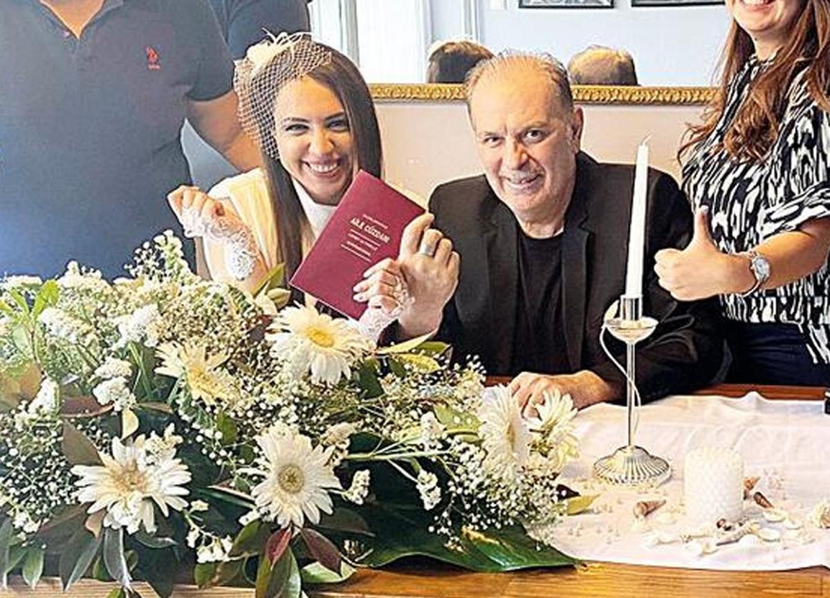 Koronavirüsü atlatan oyuncudan büyük sürpriz! Burak Sergen ile Nihan Ünsal evlendi
