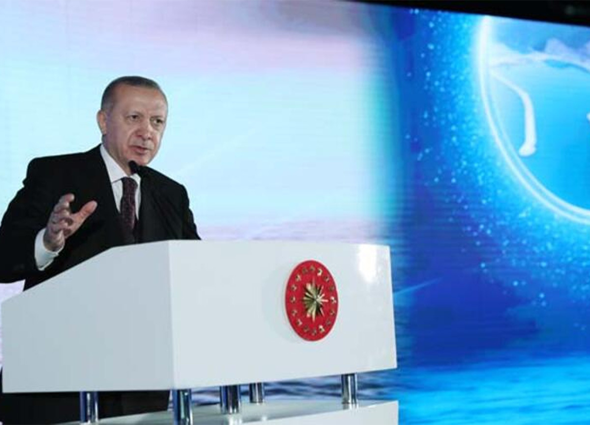 Cumhurbaşkanı Erdoğan yeni müjdeyi açıkladı! '135 milyar metreküplük yeni doğal gaz keşfi'