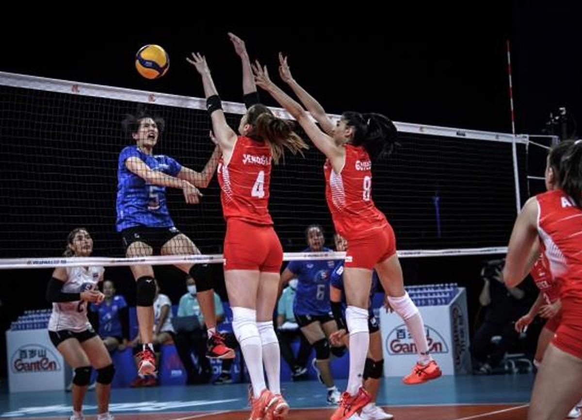 Filenin Sultanları, Milletler Ligi'nde Tayland'ı 3-1 yendi