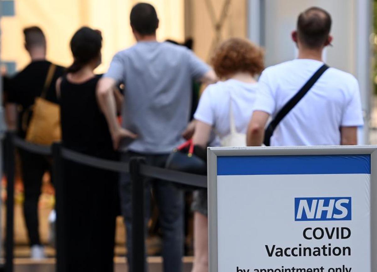 İngiltere'de toplam vaka sayısı 4 milyon 522 bini geçti