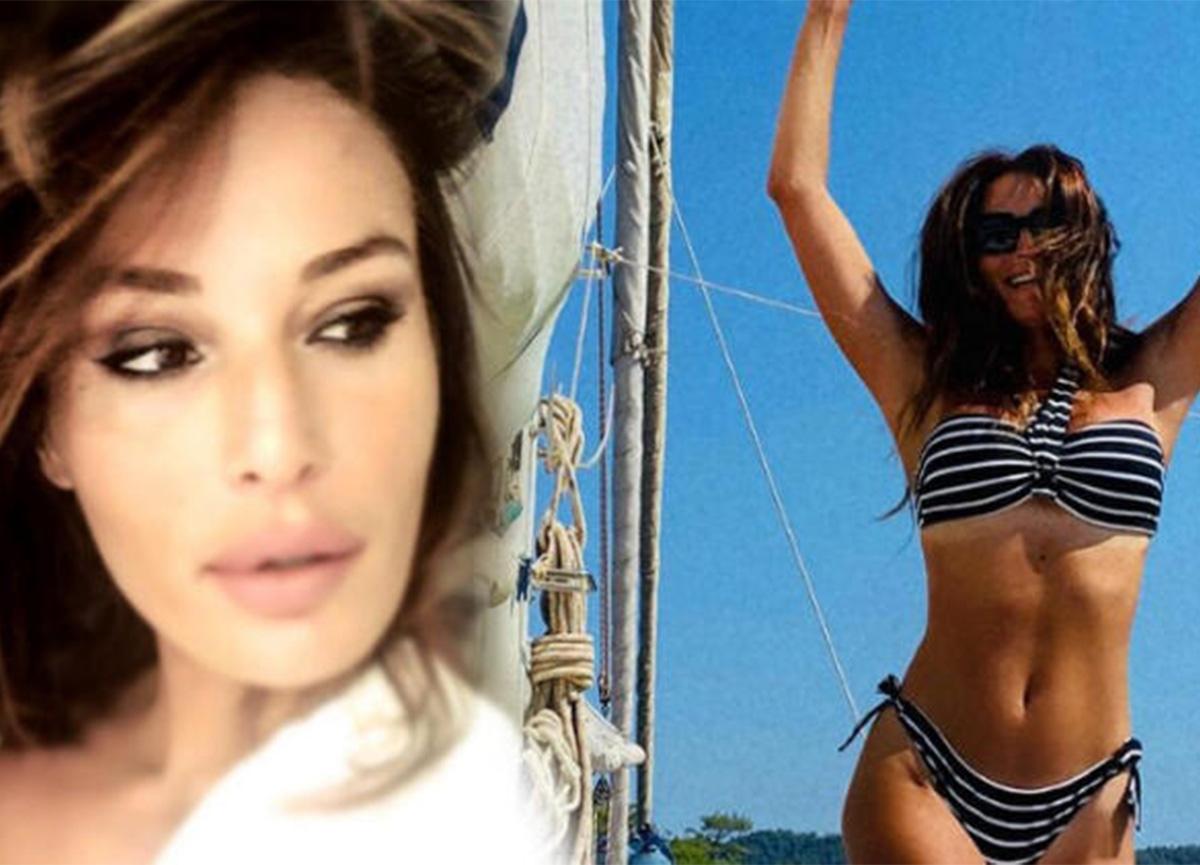 Güzide Duran, bikinili pozuyla genç kızlara taş çıkardı