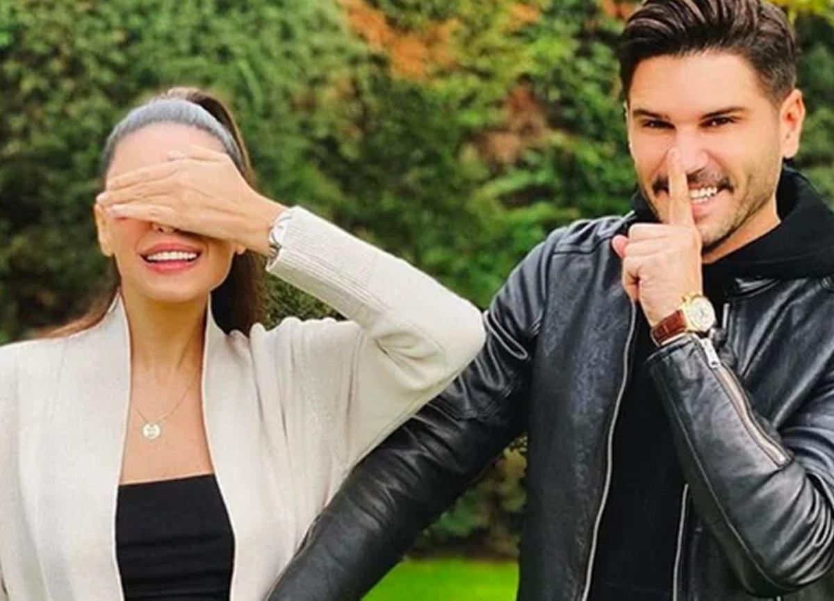 Tolgahan Sayışman ile eşi Almeda Abazi'den müjdeli haber geldi