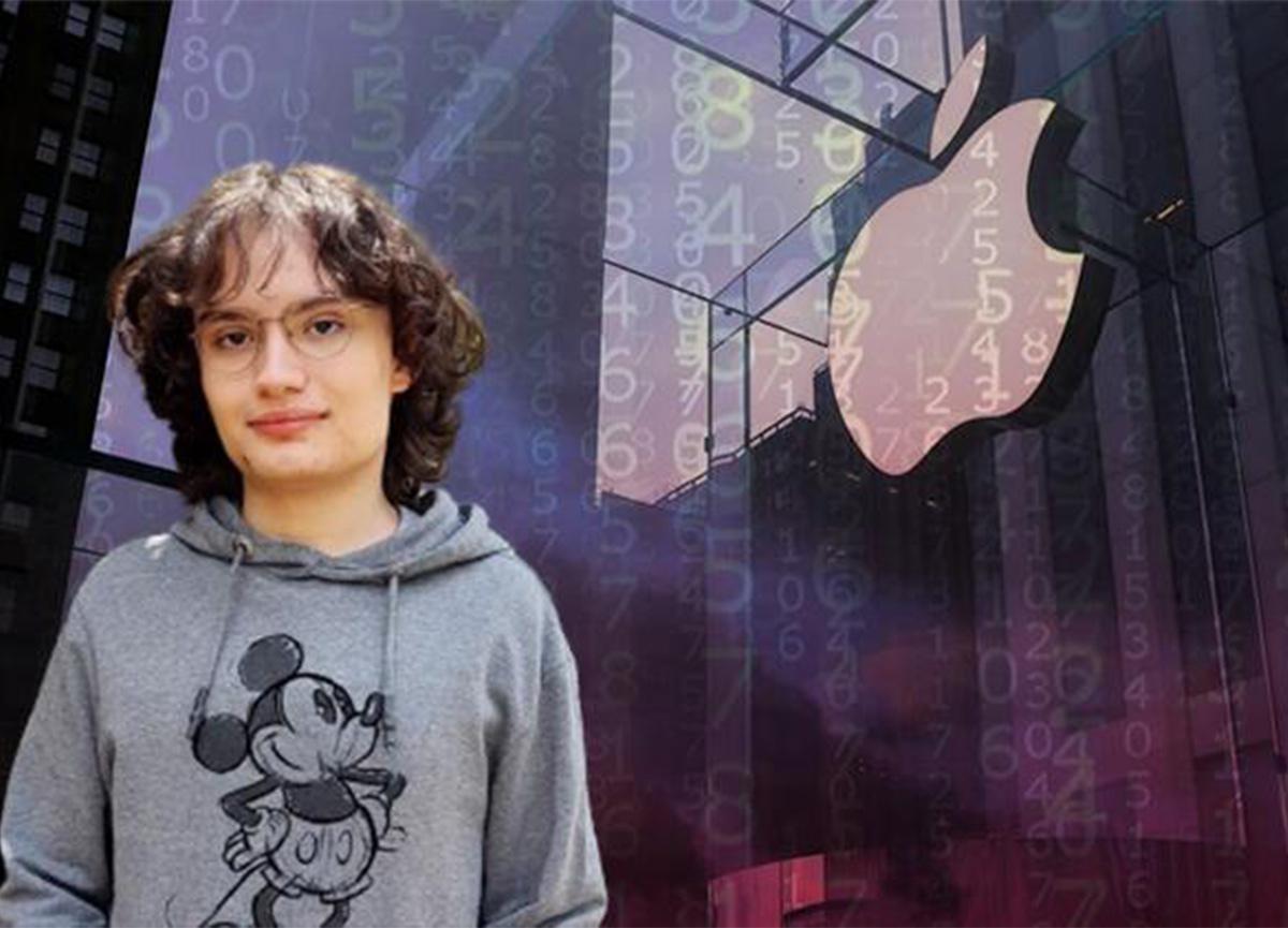 16 yaşındaki Türk lise öğrencisi Apple'ın yarışmasını kazandı