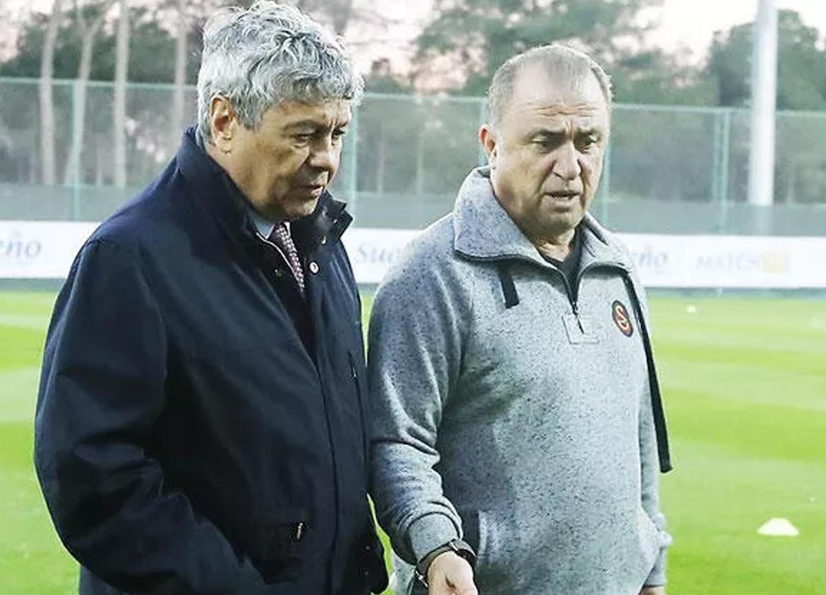 İtalya maçında Fatih Terim ve Lucescu sürprizi