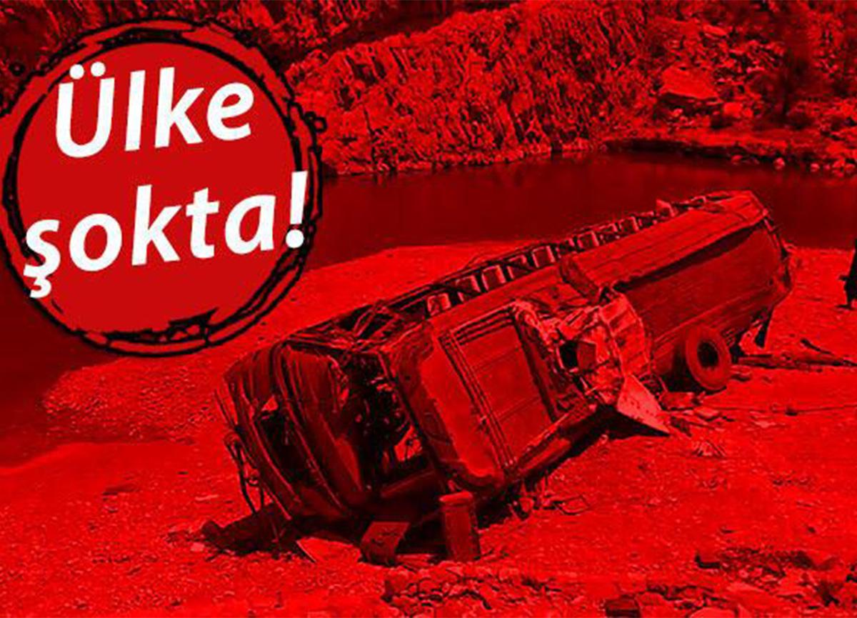 Feci kaza! 23 ölü, 30'dan fazla yaralı var