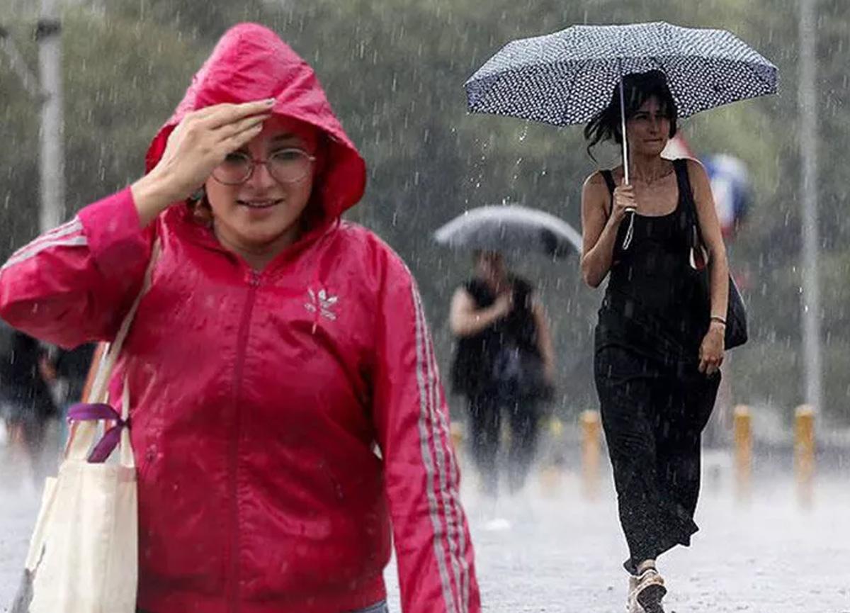Meteoroloji saat verip uyardı! İstanbul için sağanak yağış uyarısı...
