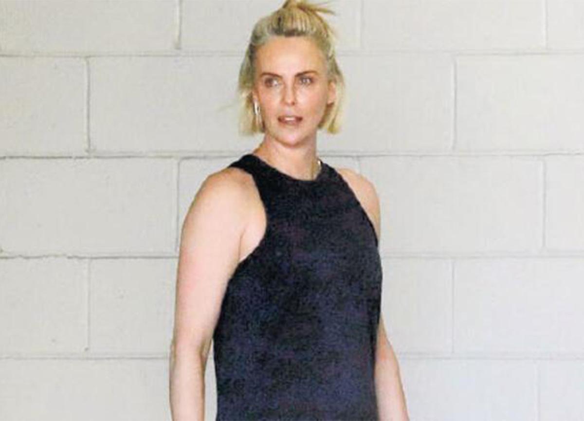 Charlize Theron, spor sonrası görüntülendi!