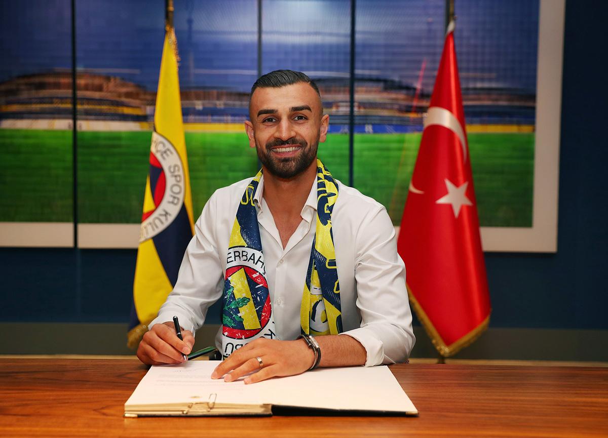 Fenerbahçe Serdar Dursun ile 3+1 yıllık sözleşme imzaladı