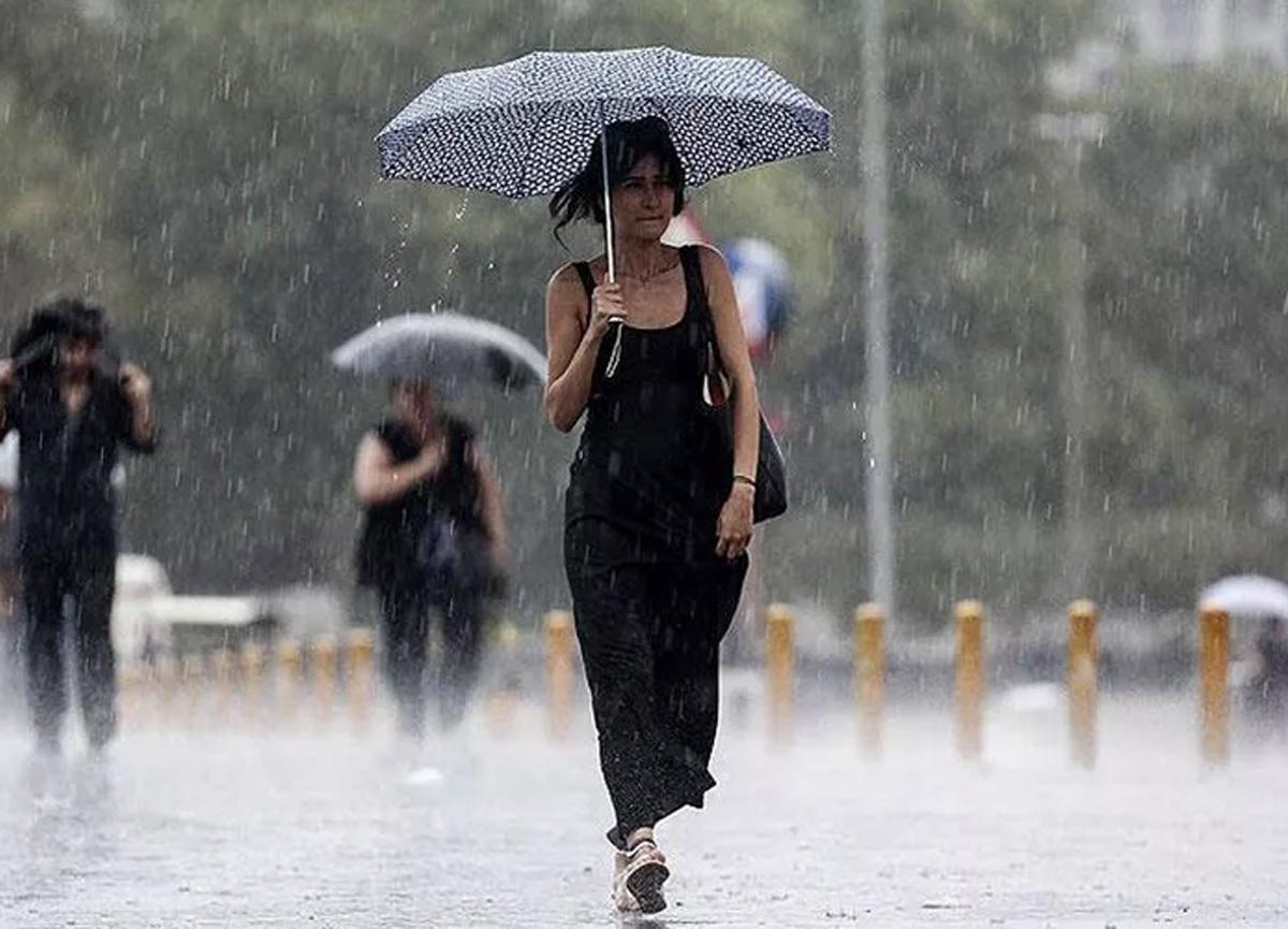 Meteoroloji çok sayıda il için sağanak yağış uyarısında bulundu