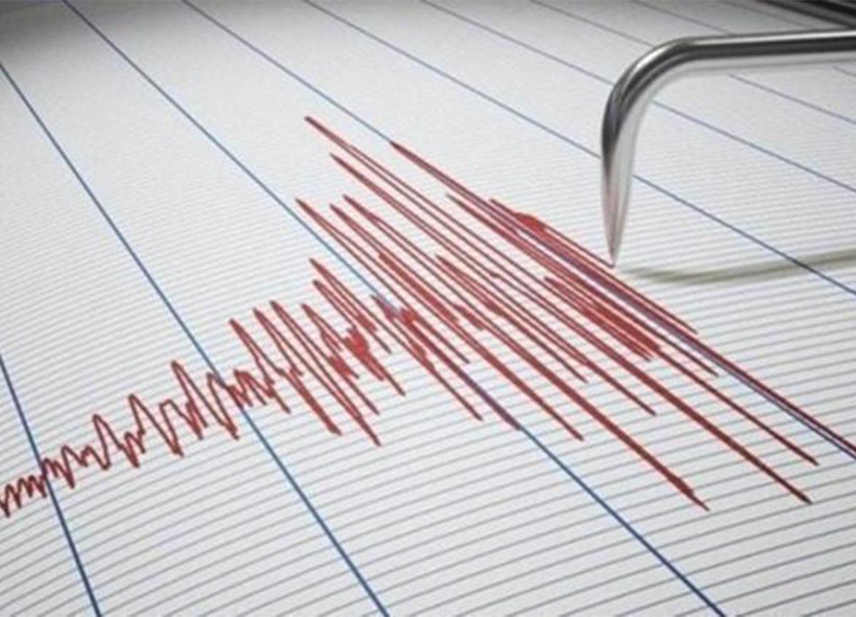 Ege Denizi'nde 4 büyüklüğünde deprem oldu!