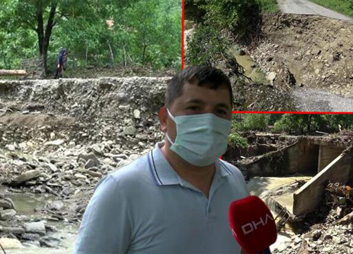 Samsun'da sel! 'Canımızı zor kurtardık'