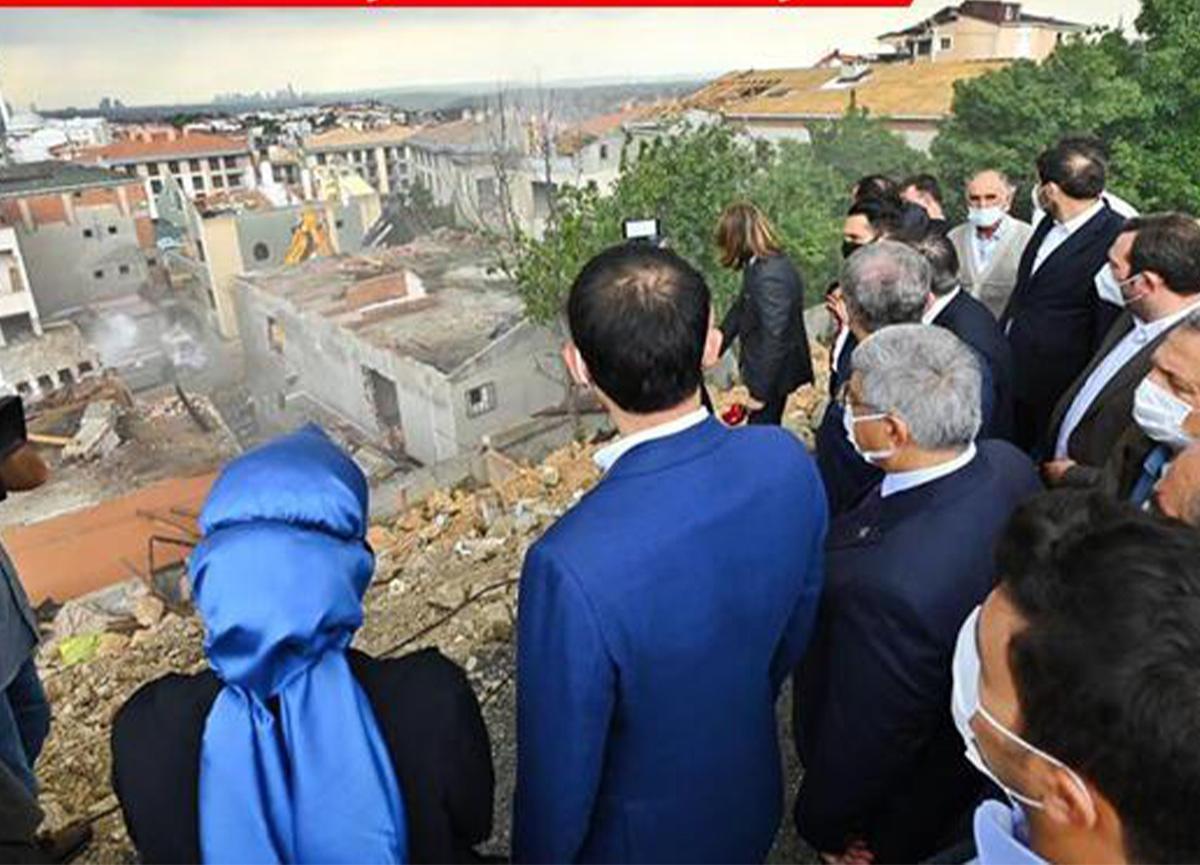 Bakan Kurum açıkladı! Üsküdar'da 5 bin konutun yerinde dönüşümü başladı