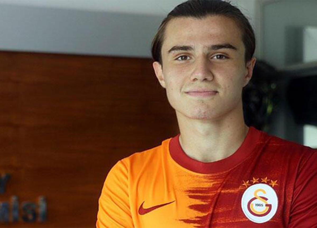 Galatasaray Sarper Çağlar'la sözleşme imzaladı