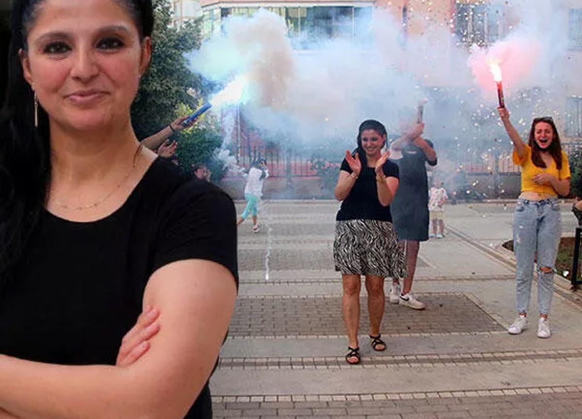 Adana'da eşinden boşandı, davul zurnayla kutladı