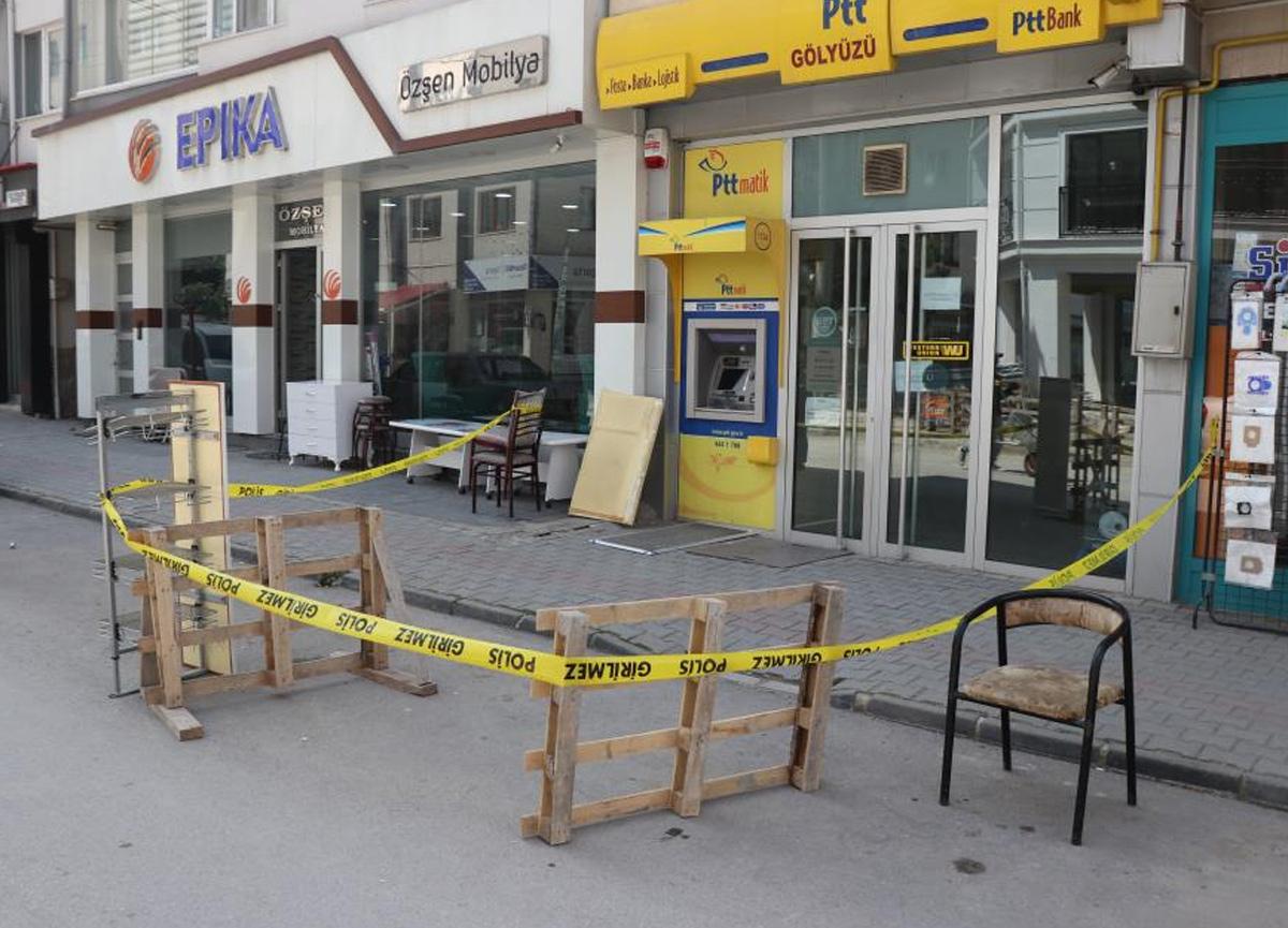 Bolu'dan PTT Şubesi'nde soygun! Hırsız güvenlik görevlisi çıktı