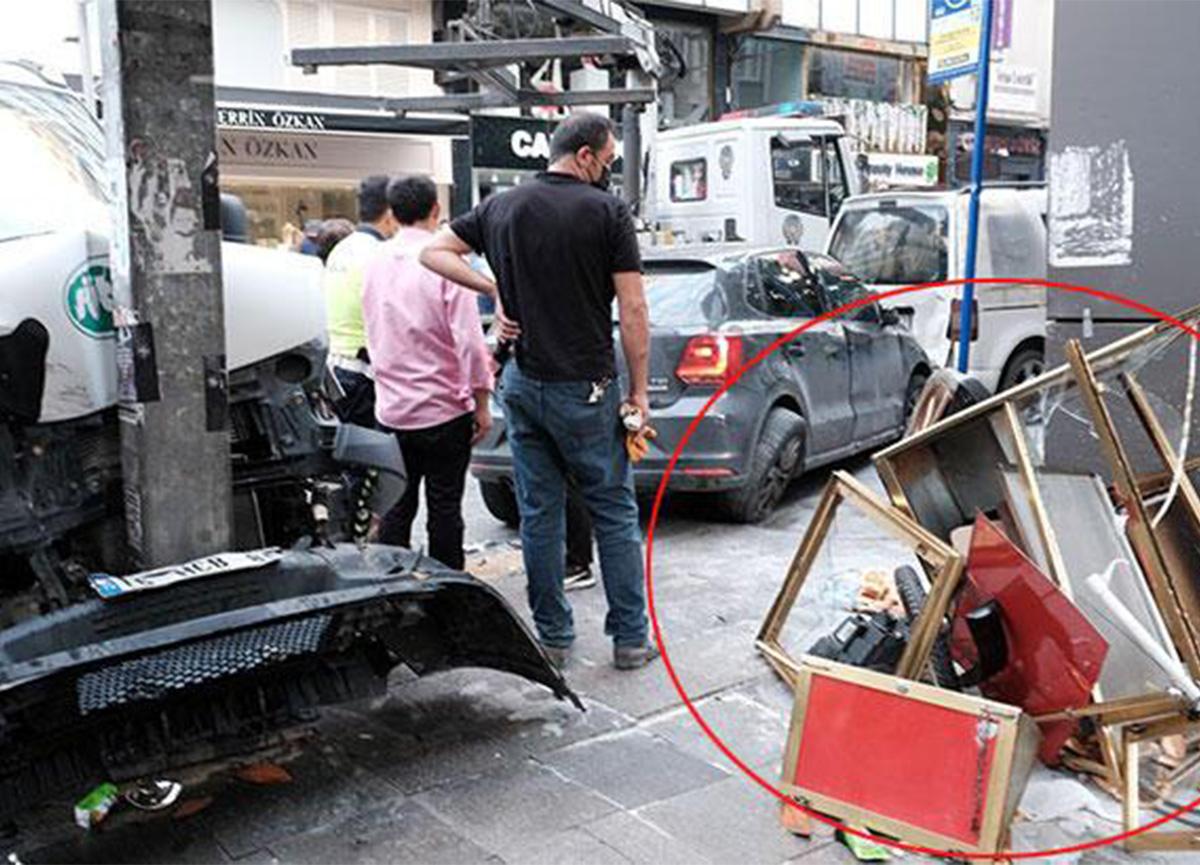 Şişli'de kaza! 2 kişi yaralandı