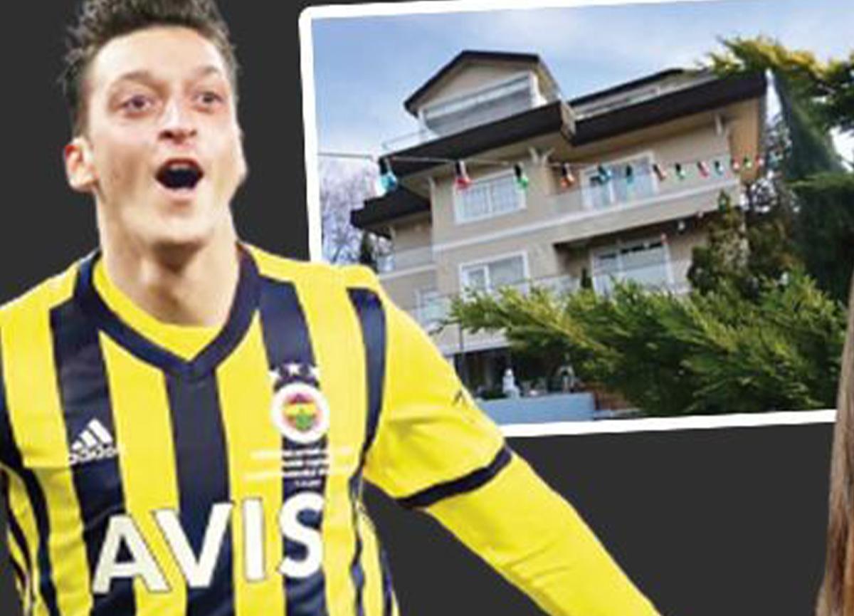 Mesut Özil, kayınvalidesi Gülter Gülşe'ye ev aldı!