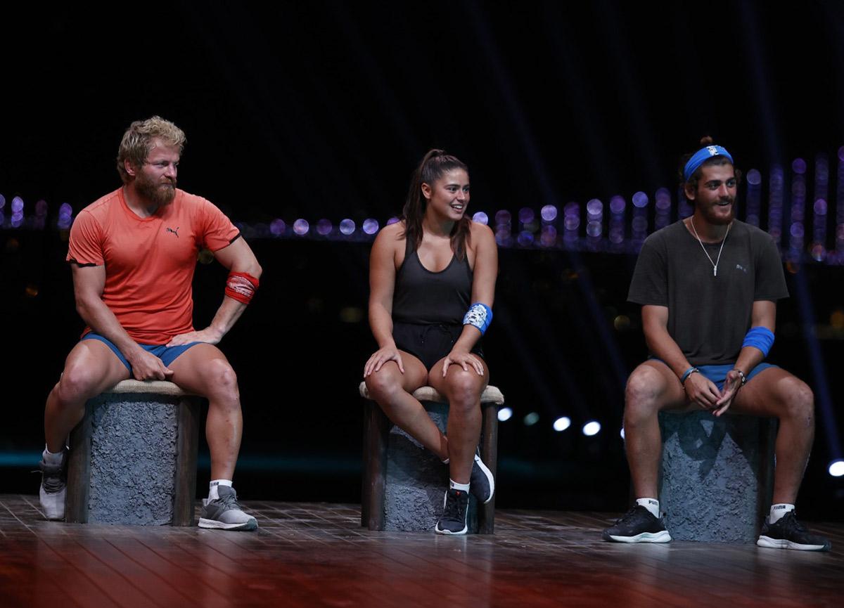 Survivor'da kim elendi? 24 Haziran Survivor 2021 yarı finalinde üçüncü olarak veda eden kim oldu?
