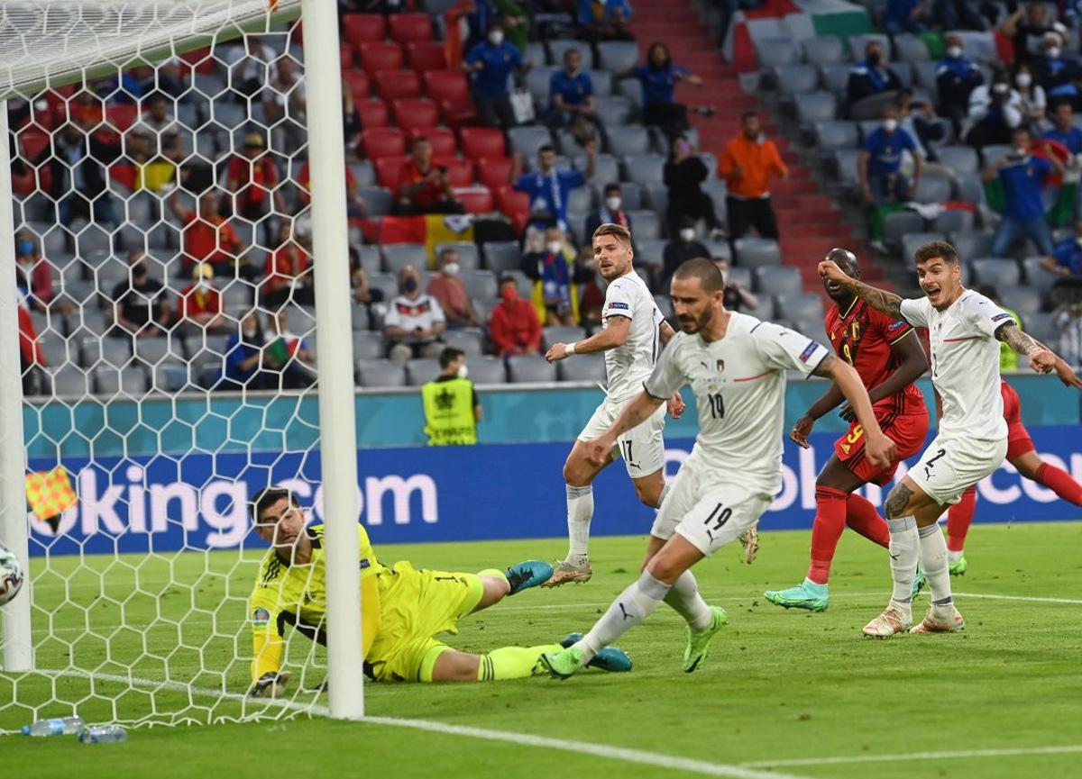 İtalya, Belçika'yı mağlup etti ve yarı finale yükseldi