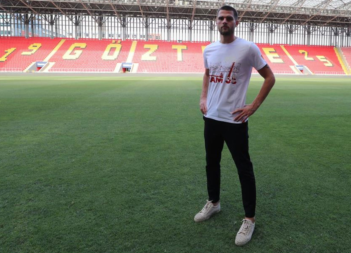 Göztepe, Dino Arslanagic transferini açıkladı