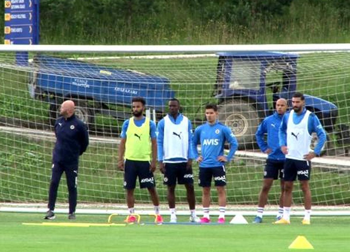 Pereira, Fenerbahçe'nin başında ilk idmanına çıktı