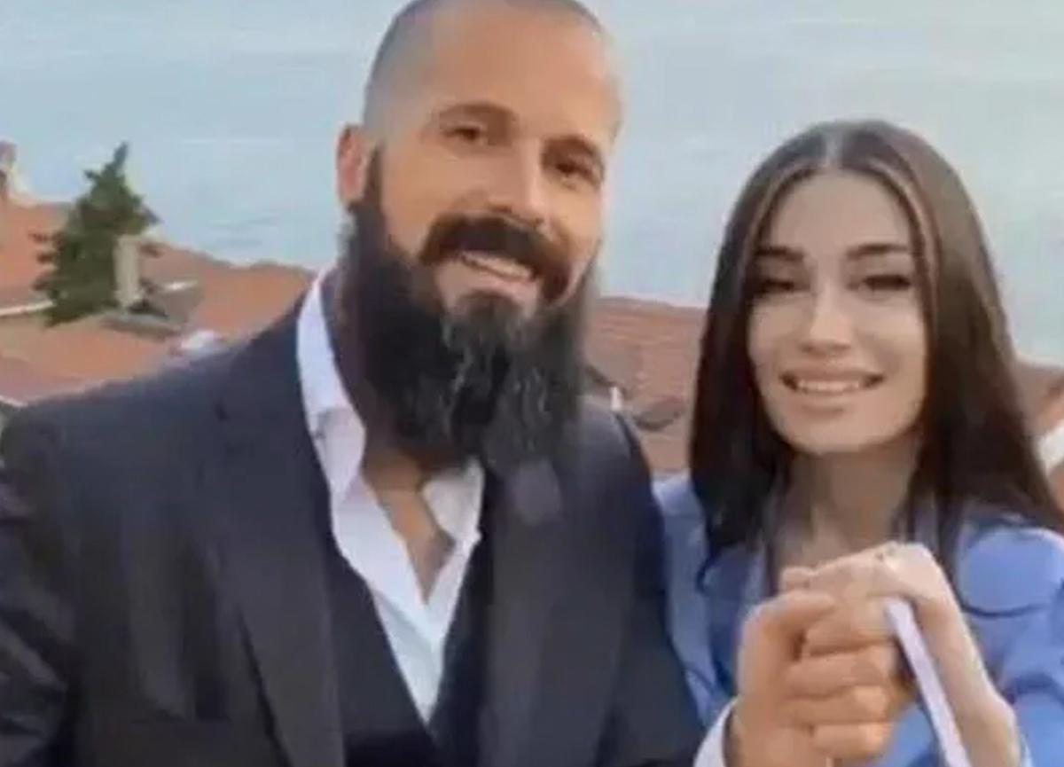 Orhan Gencebay'ın oğlu Gökhan Gencebay ile Seda Han nişanladı