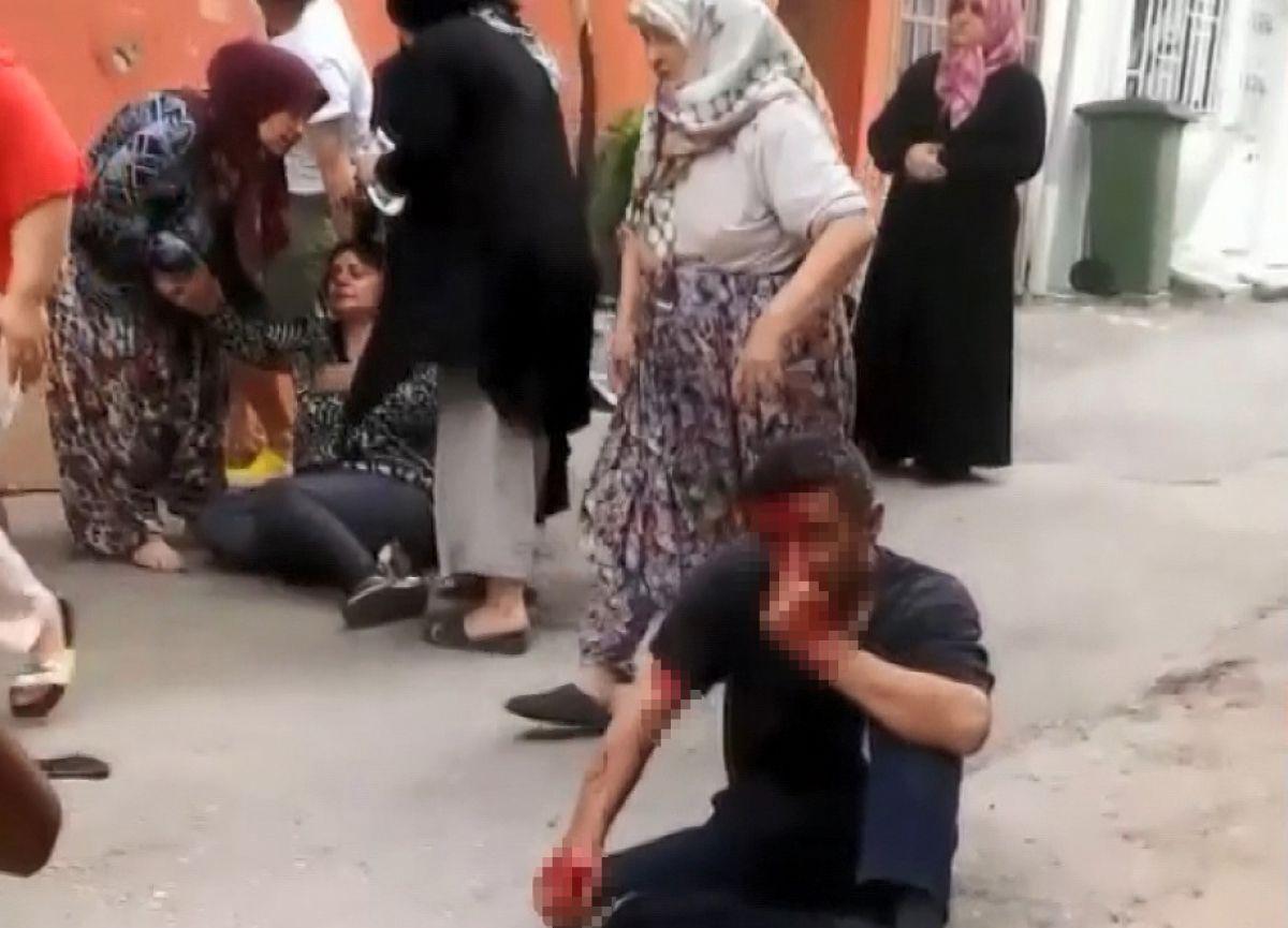 Bursa'da 5 yaşındaki kızı taciz eden şahsa meydan dayağı
