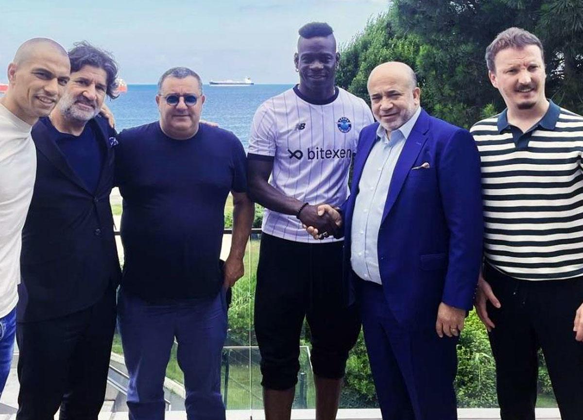 Balotelli, Adana Demirspor ile 3 yıllık sözleşme imzaladı