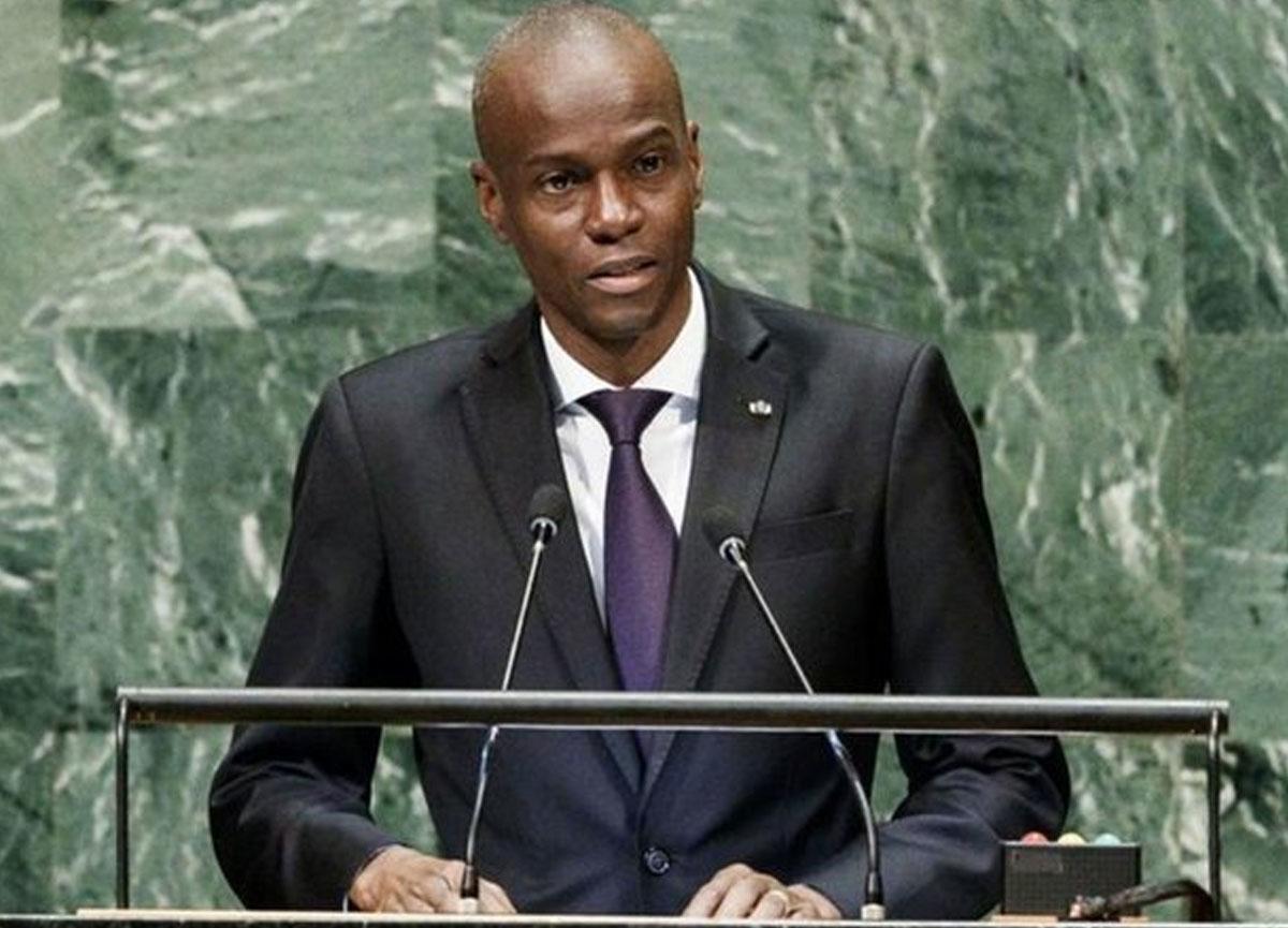 Haiti Devlet Başkanı Jovenel Moise öldürüldü