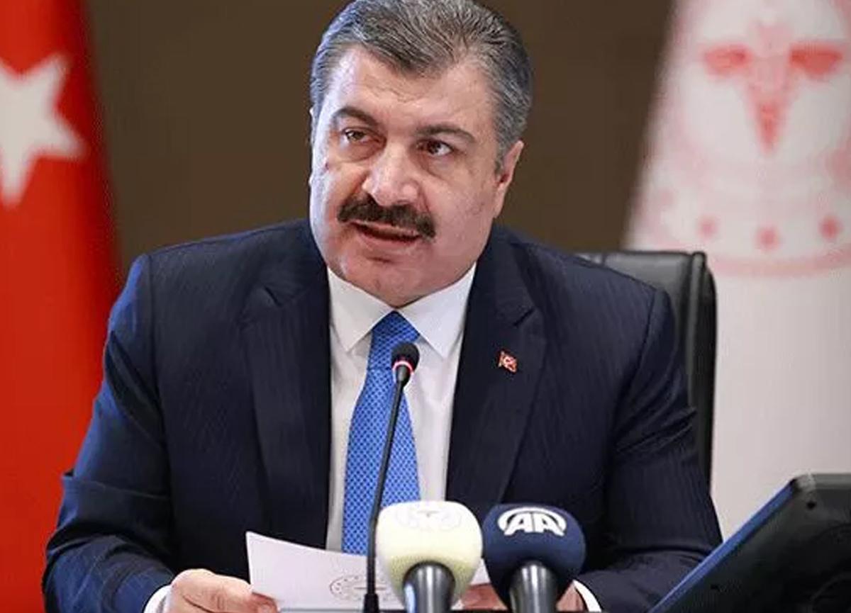 Sağlık Bakanı Fahrettin Koca'dan koronavirüs aşı paylaşımı