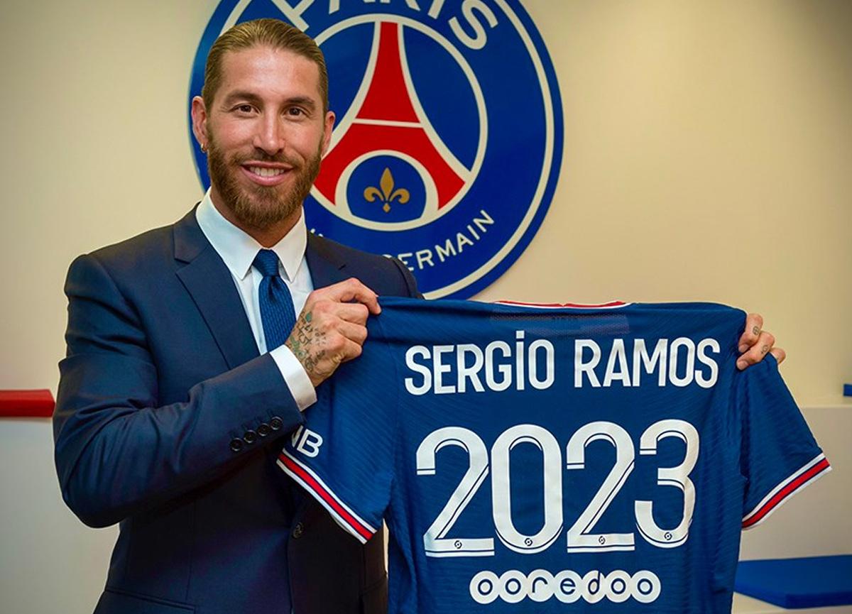 PSG, Sergio Ramos'u resmen açıkladı: Sözleşme 2 yıllık
