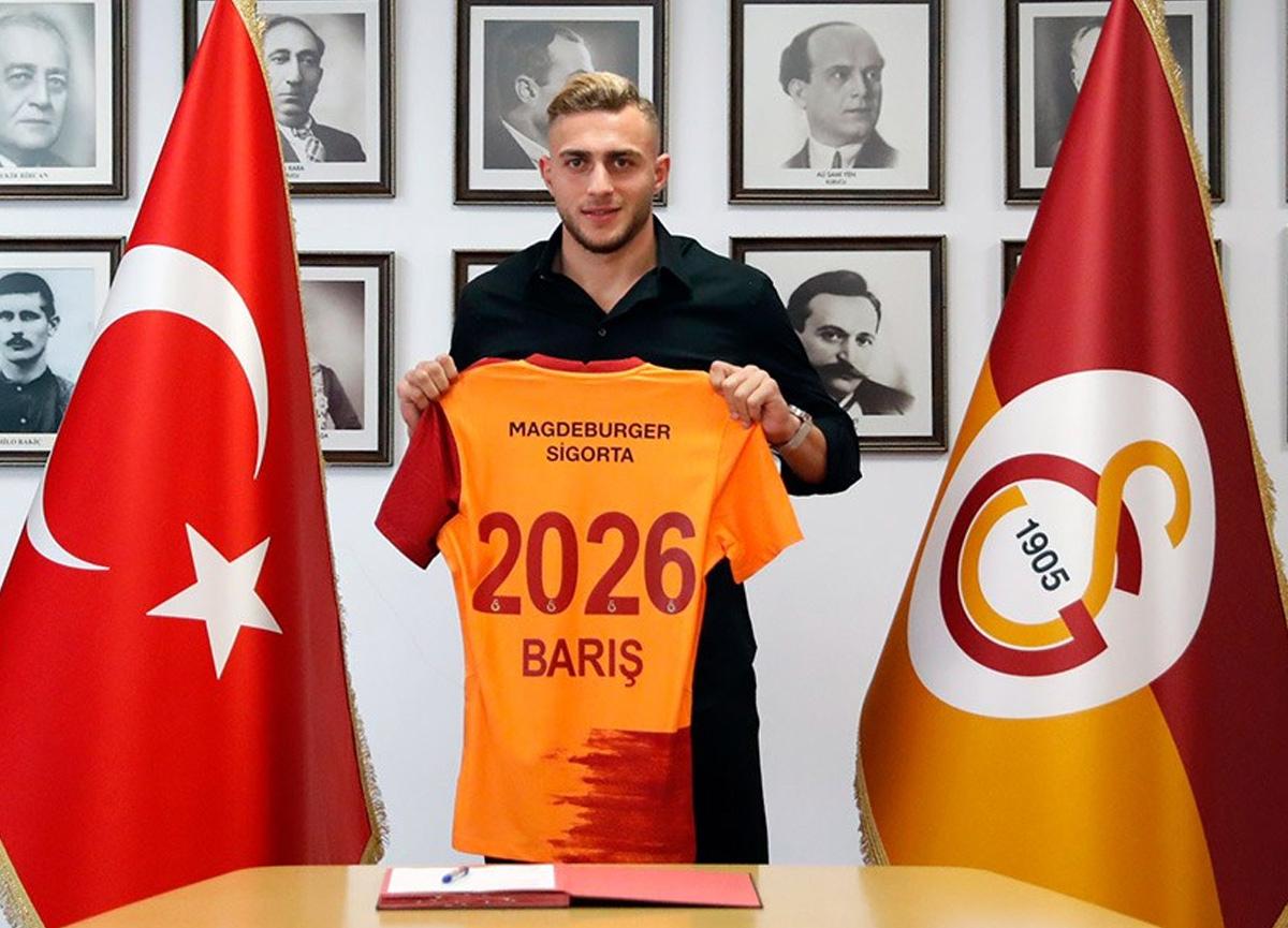 Barış Alper Yılmaz 5 yıllığına Galatasaray'da