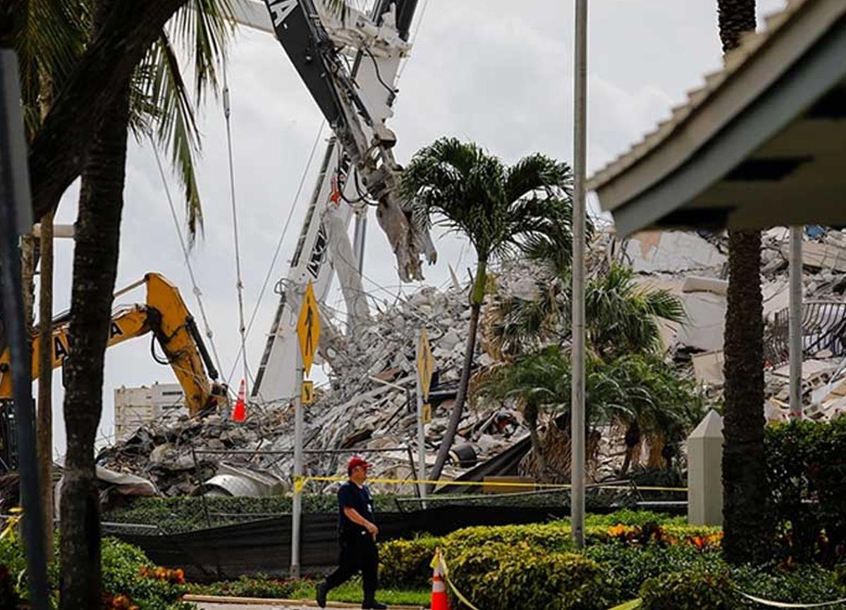 Florida'da çöken 12 katlı binada ölü sayısı 86'ya yükseldi