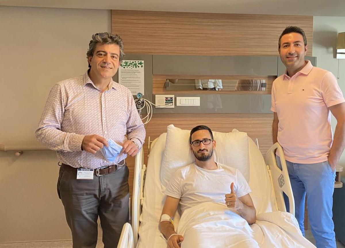 Sivasspor'da ameliyat olan Erdoğan Yeşilyurt, 5 hafta sahalardan uzak kalacak
