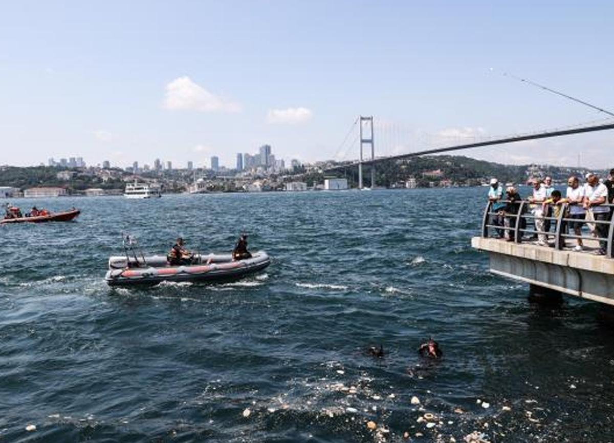 İstanbul Boğazı'na kaybolan AA çalışanını arama çalışmalarına ara verildi