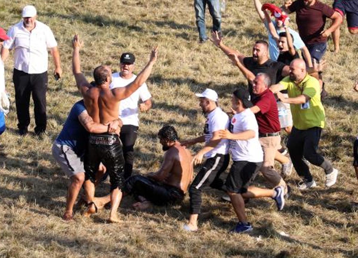 660. Kırkpınar Yağlı Güreşlerini Ali Gürbüz kazandı ve başpehlivan oldu