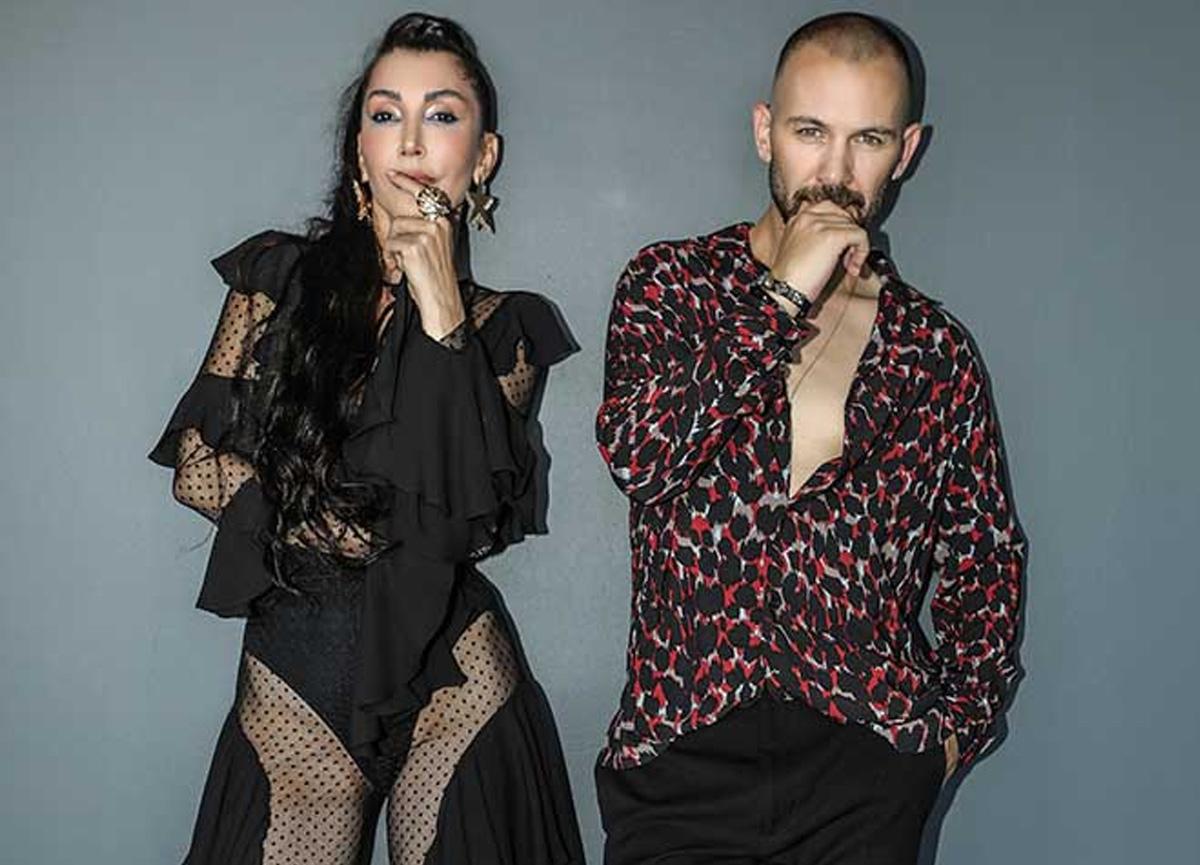 Hande Yener'in transparan elbisesi olay oldu