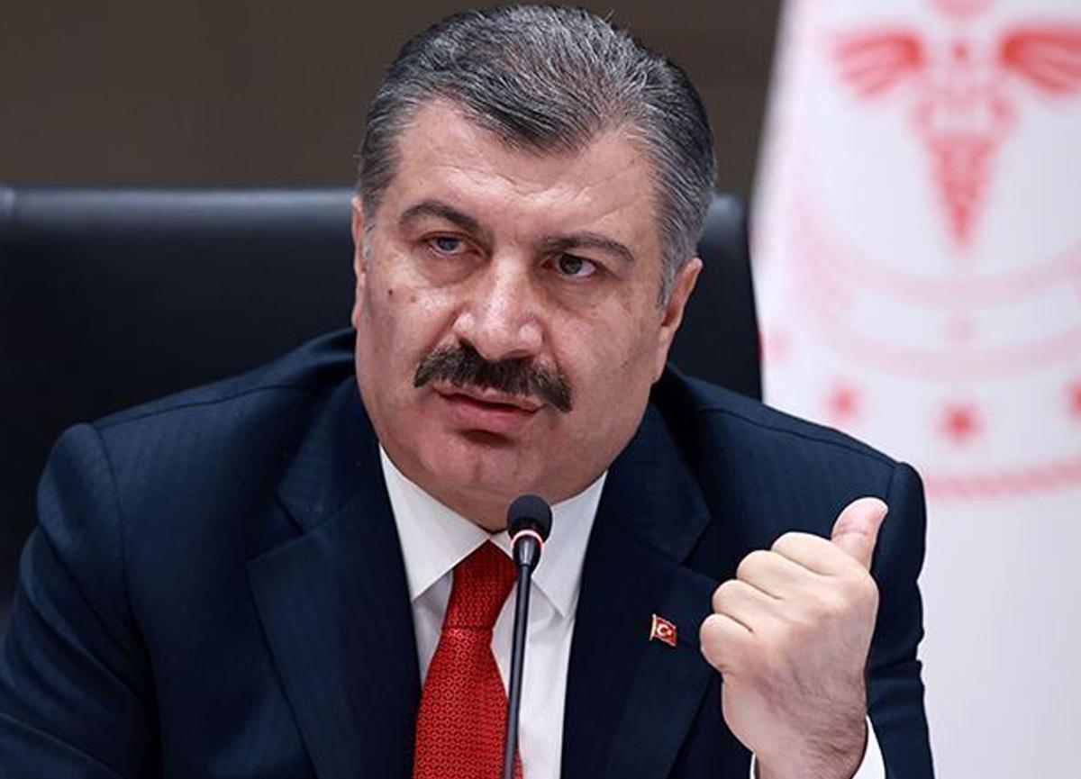 Sağlık Bakanı Fahrettin Koca, illere göre vaka sayısını açıkladı