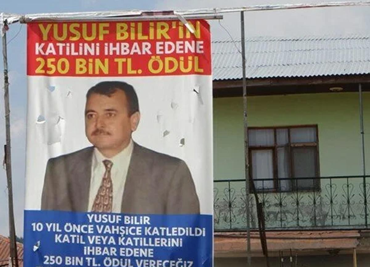 10 yıl önceki cinayet için 250 bin lira ödül
